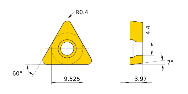 10 .094 Details about  /TRW CARBIDE INSERT TPMC-43VGR GRADE CY-16  QTY